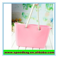 2015 hot sell cheap silicone beach bag,silicone bag,silicone tote bag