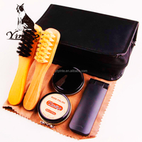 Yangzhou yingte home or hotel use convenient shoe shine kit shoe polish set
