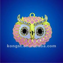 USB owl flash drive necklace