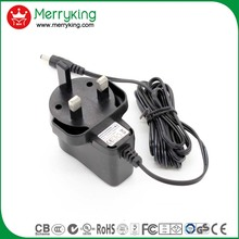 Travel plug 5V 6V 8V 12V ac dc power adapter for mag254 iptv box,CCTV ,Camera
