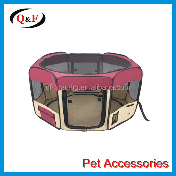Indoor/Outdoor Pet Playpen Cage for small dogs and cats