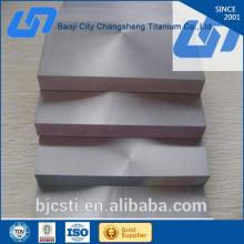 Titanium Alloy polished titanium sheet with high quality polished titanium sheet