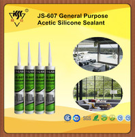 One component GP Acetic Glass And Aluminum Silicone Sealant