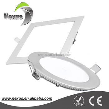 6W Contemporary OEM smd led light diffuser panel light