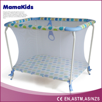 easy folding kids travel cot baby playpen
