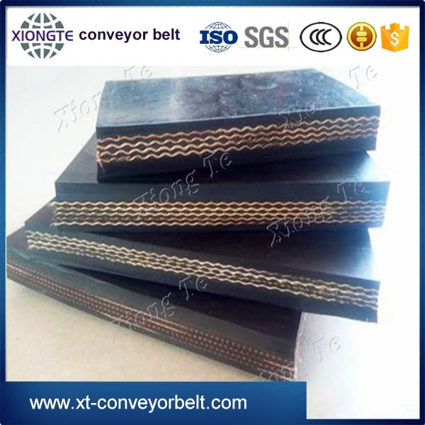 China manufacture concrete canvas belting conveyor
