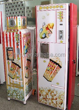 automatic coin operated popcorn vending macine