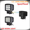 LED truck/jeep/SUV car light 60W offroad led driving lights
