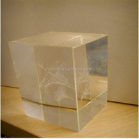Blank Crystal Cubes for Engraving
