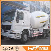 China Best Selling High Quality Concrete Mixer Truck Dimensions