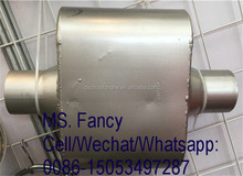 Aluminum universal exhaust muffler / car spare parts