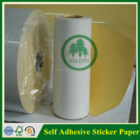 Gross self adhesive label stick paper in sheet or roll