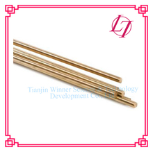 Low fuming bare brass smokeless TIG welding stick HS221 for Brazing brass