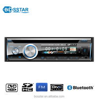 single din high power cheap car audio dvd player with bluetooth usb sd remote