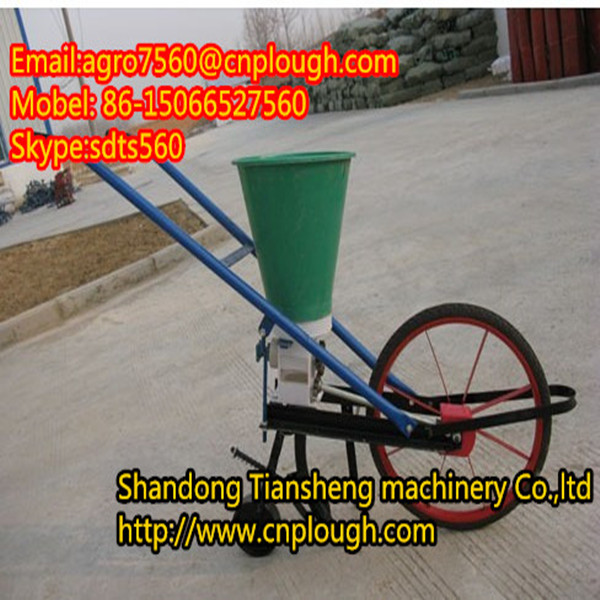 105 series hand seed drill with fertilizer about push seeder