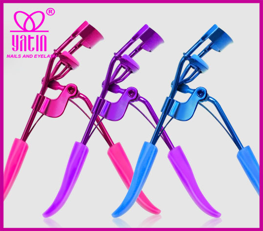 High quality make up tools of silicone eyelash curlers