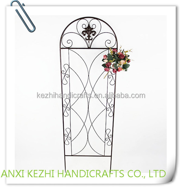 KZ8-06075 Hot sell outdoor decors iron metal garden stake
