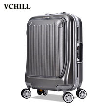 wholesale vintage style royal trolley luggage
