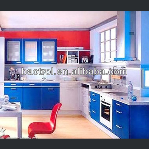 China Home Furniture Manufacturer Wilsonart Solid Surface for Modern Kitchen / Discount Kitchen Cabinet / Custom Kitch(KCT-022)