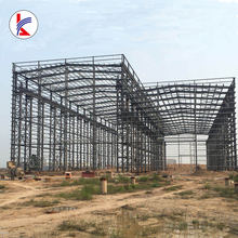 Easy install Prefab light steel frame warehouse structure with steel roof structure