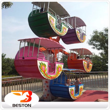 Small carnival games ride mobile ferris wheel kiddie ride portable ferris wheel for sale