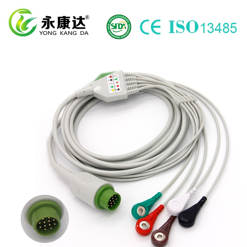 Medical Accessories ECG/EKG Trunk Cable and Lead Wires