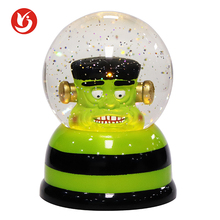 Quality LED Halloween Decoration Green Water Globe for sale