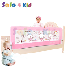 Customized Aluminum Alloy Baby Security Collapsible Bed Safety Rail
