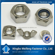 Ningbo fastener manufacturers bolt nut ISO9001good quality lug nut covers