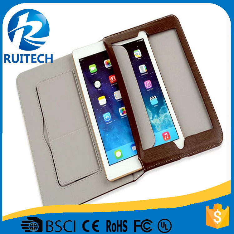 Ultra Slim Thin Leather PC Case For iPad Air 2 Cover