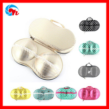 Fashion travel bags for underwear lingerie eva bra case