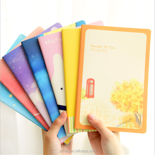Wholesale OEM recycled cheapest soft cover colourful journal diary notebook for exercise