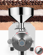 High quality coffee bean Grinder mill machine 40kg hour capacity
