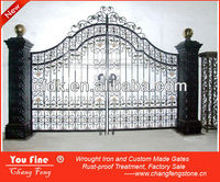Wrought Iron Main Gate Designs for Homes