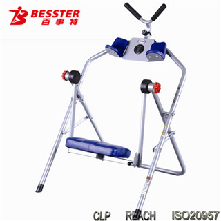 [NEW JS-050B]easy ab exercises AB trainer arm & abdominal exercise machine exercise equipment home fitness gym indoor sport