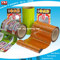 Heat seal laminating plastic film for wipes package