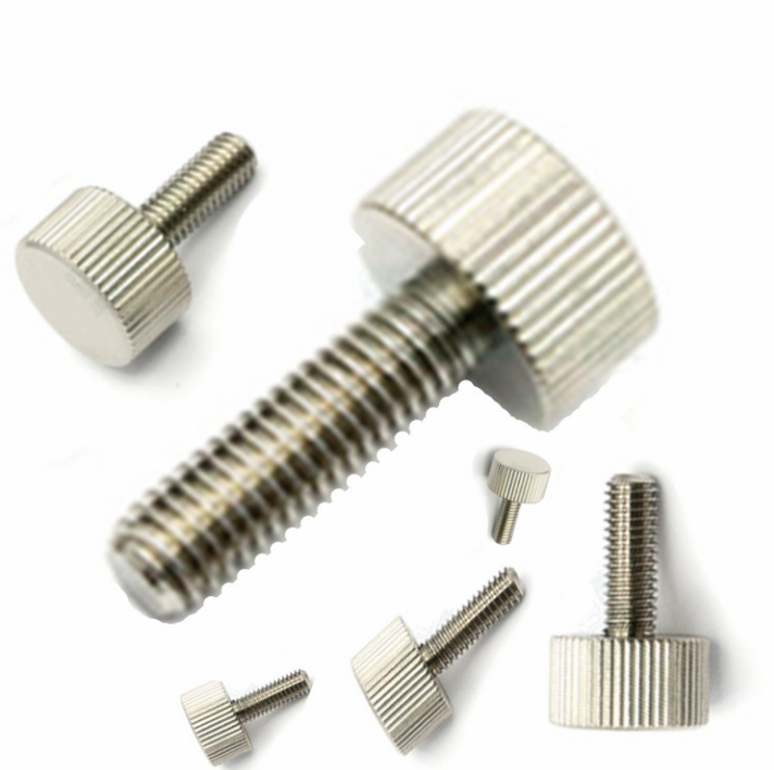 m4 flat head round knurled thumb <strong>screw</strong> black knob thumb <strong>screw</strong>
