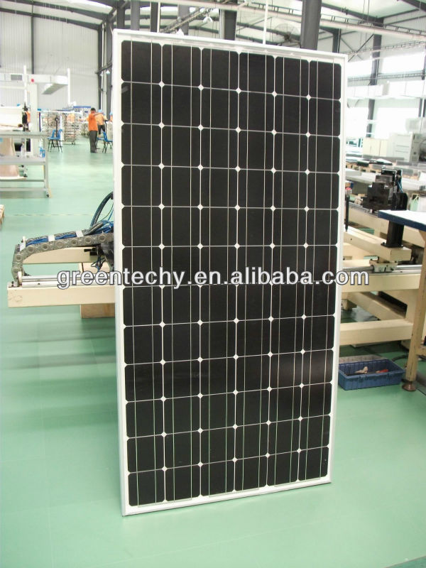 180W mono solar panel with CE&ISO certifications