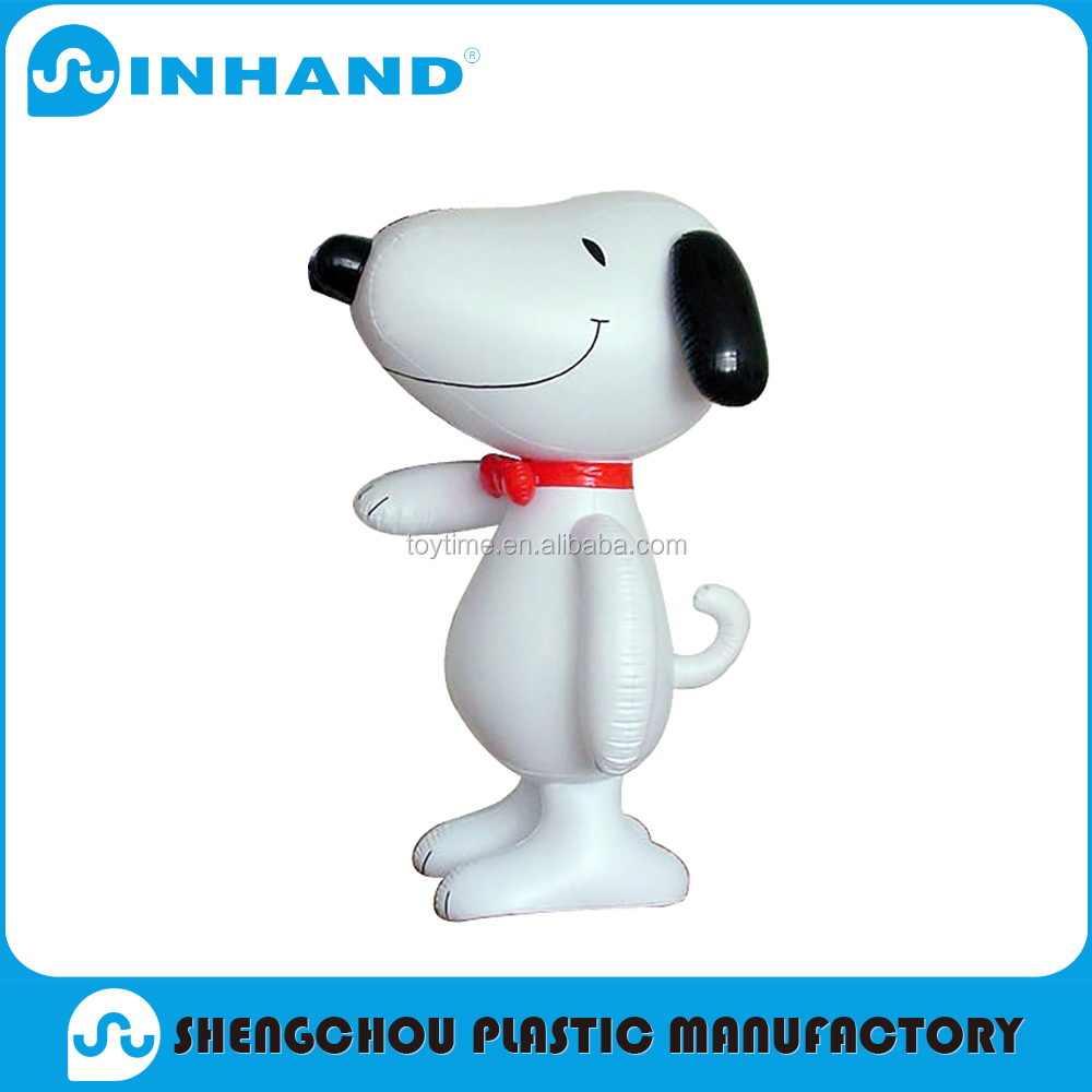 advertising customised EN71 pvc inflatable cartoons, OEM plastics animal promotions