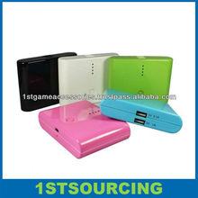 12000mah Dual USB Power Bank for apple/samsung/iPhone / iPad / Mp3 / Mp4