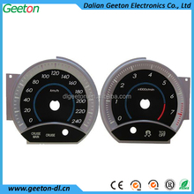 3D Digital Car Speedometer and Tachometer Faceplate