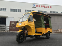 China 6 seats tuk tuk rickshaw piaggio passenger three wheel motorcycle for sale
