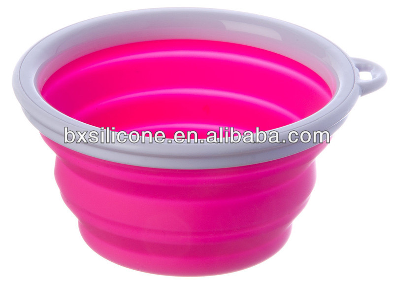 2013 hot sale and eco-friendly pet bowl dish,silicone pet bowl dish,folding pet bowl dish