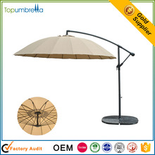 balcony outdoor central hanging sunshade umbrella sun garden parasol