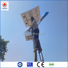 2014 hot 30W led solar street light with pole