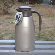 Hot Sale Double Wall Stainless Steel Thermo Jug/Vacuum Coffee Pot.
