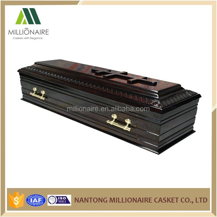 Antique rectangle coffin