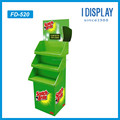 Custom ECO friendly cardboard high quality display stand for Washing liquid