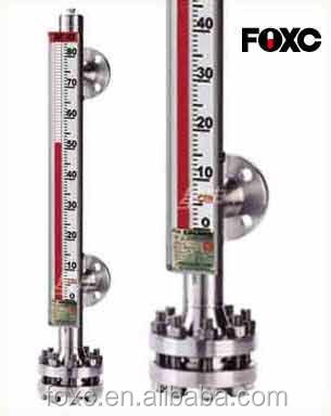 stainless 304 steel magnetic fuel tank level meter