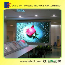Live meeting usage led indoor full color display P10 with best viewing feel